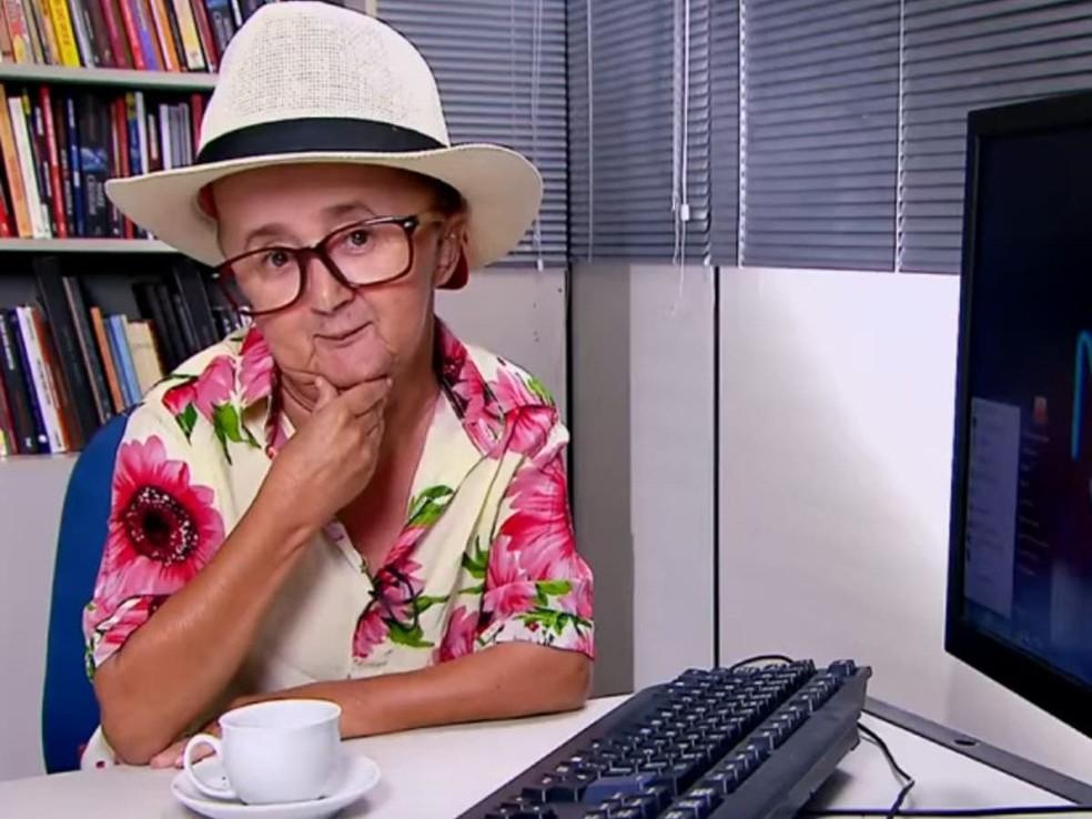José Luiz Almeida da Silva, o Jotinha, ficou famoso com áudios e vídeos virais no WhatsApp — Foto: Reprodução/Instagram