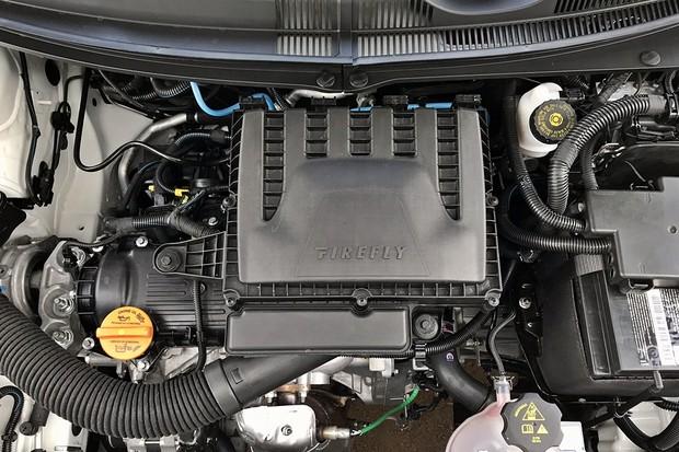 Motor Fiat 1.3 Firefly flex (Foto: Diogo de Oliveira/Autoesporte)