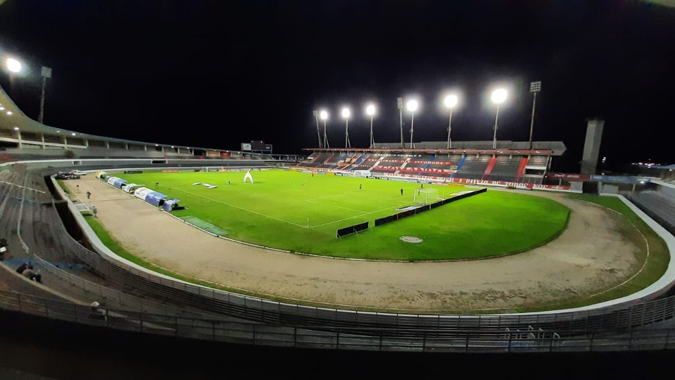 Estádio Rei Pelé, em Maceió, recebe o jogo entre CRB e Vasco — Foto: Ailton Cruz/Gazeta de Alagoas