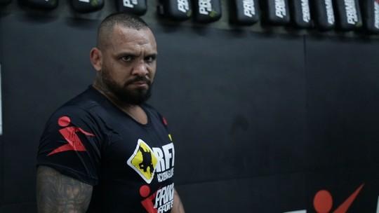 Luiz Besouro divide rotina de treinos com a de motorista de aplicativo