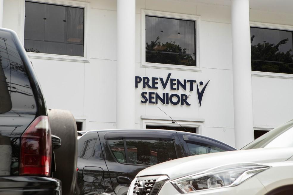 Prédio da Prevent Senior na região do Ibirapuera, Zona Sul de SP — Foto: Daniel Teixeira/Estadão Conteúdo