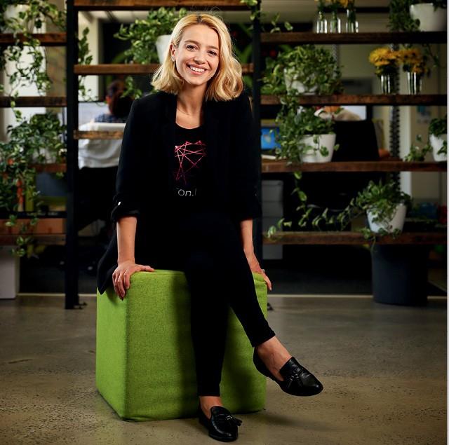 A empreendedora Emma Poposka fundadora da startup Bron.tech (Foto:  John Feder / Newspix)