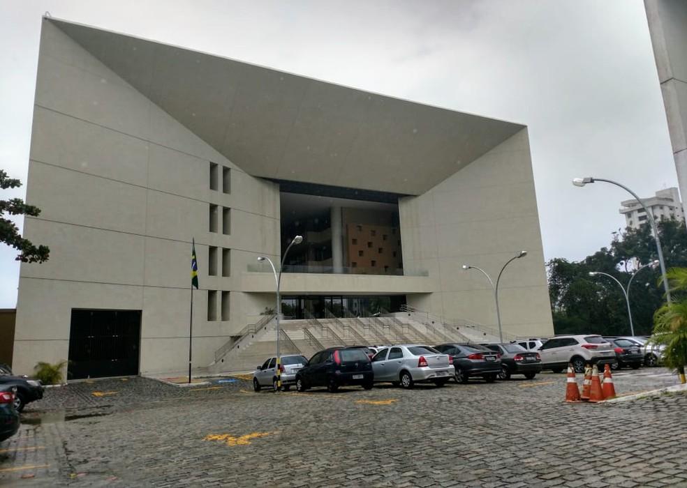 Sede do Tribunal Regional Eleitoral do Rio Grande do Norte, TRE-RN  — Foto: Igor Jácome/G1