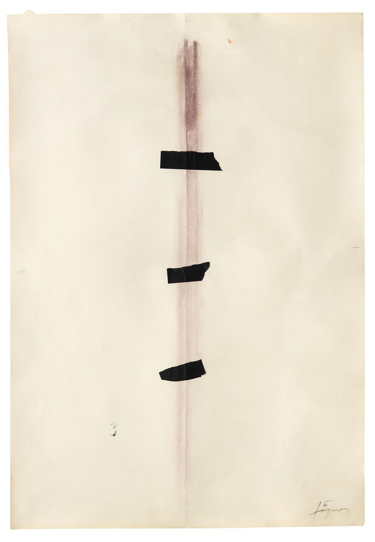 Obra de Antoni Tapies (Foto: Divulgação)