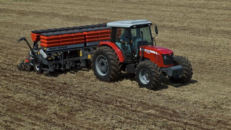 agricultura_maquina_trator_massey_ferguson (Foto: Divulgação)