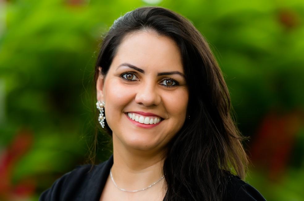 A professora brasileira Doani Emanuela Bertan foi selecionada entre os dez finalistas do Global Teacher Prize 2020. — Foto: Divulgação