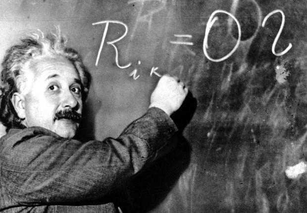 O físico Albert Einstein  (Foto: Reprodução/Facebook)