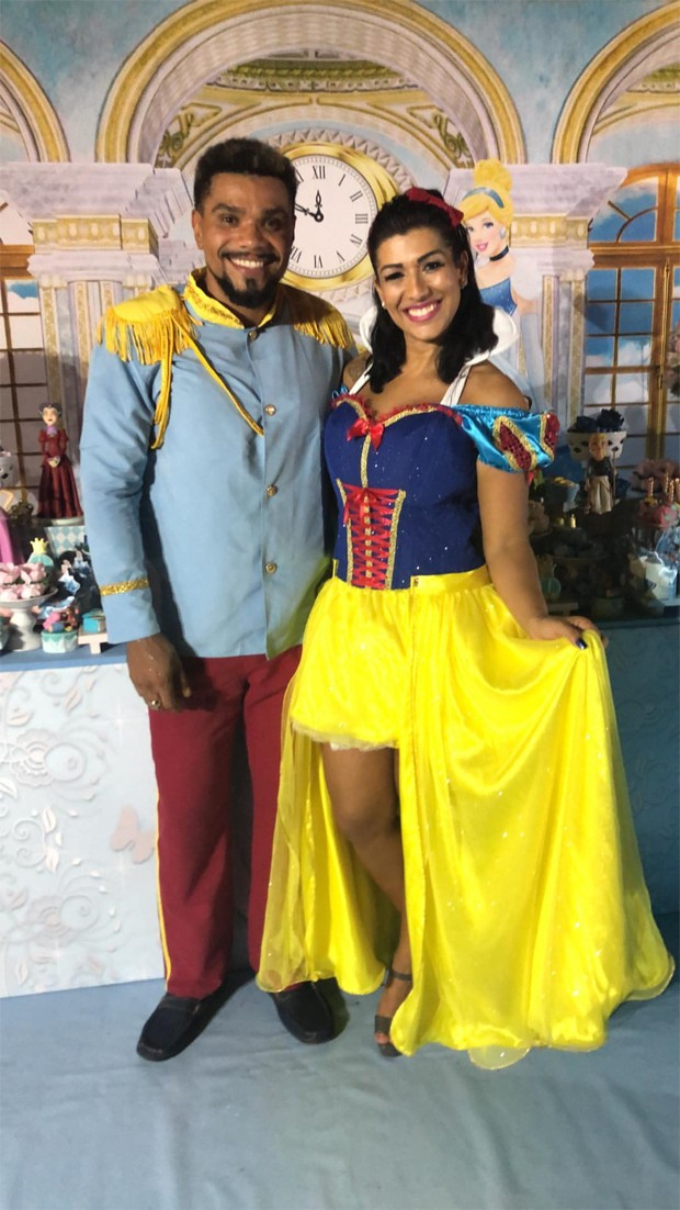 Naldo Benny e Ellen Cardoso (Foto: Reprodução/Instagram)