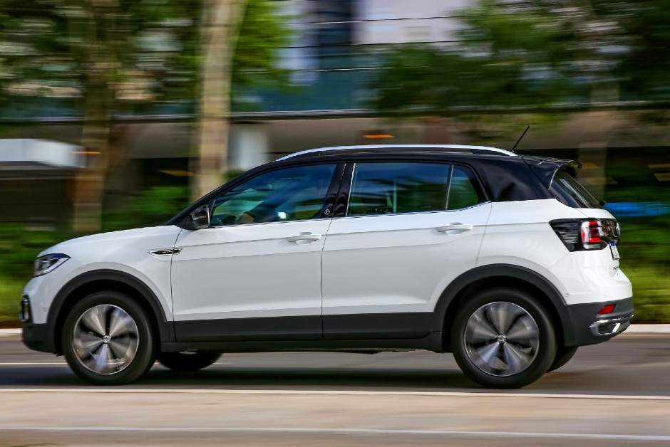Volkswagen T-Cross 2021 (Foto: Divulgação)