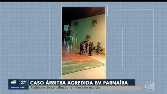 Árbitra agredida não chega a acordo com atleta e promete pedir R$ 10 mil em ação na justiça
