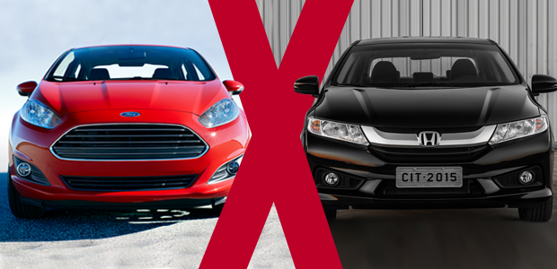 Toyota Corolla S Plus >> Jogo rápido: Honda City 1.5 LX X Ford Fiesta Sedan 1.6 SE Powershift - AUTO ESPORTE | Análises