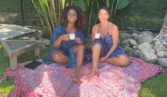Shirley Cruz e Fabiula Nascimento (Foto: Divulgação)