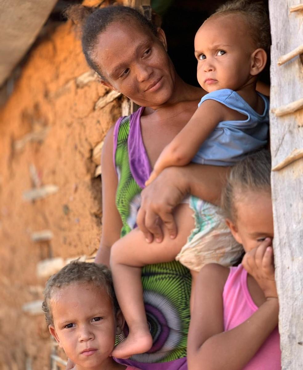 Ivandi de Jesus Cardoso mora em Canudos, no sertão da Bahia — Foto: Bismarck Araujo/ Arquivo Pessoal