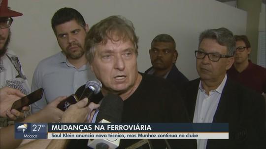 Marcelo Vilar será novo técnico da Ferroviária em 2020, diz investidor