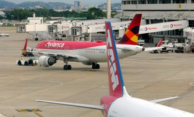 Aeroporto do Galeão: Avianca, Latam, Azul