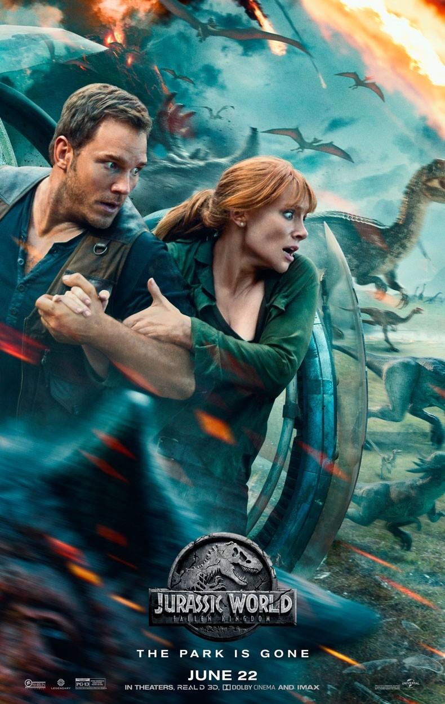 Cartaz Jurassic World: Reino Ameaçado (Foto: Divulgação/Universal Pictures)