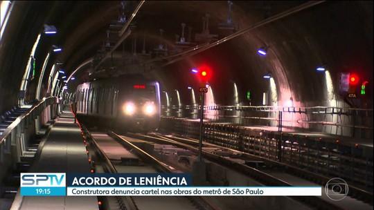 Construtora denuncia cartel nas obras do metrô de São Paulo
