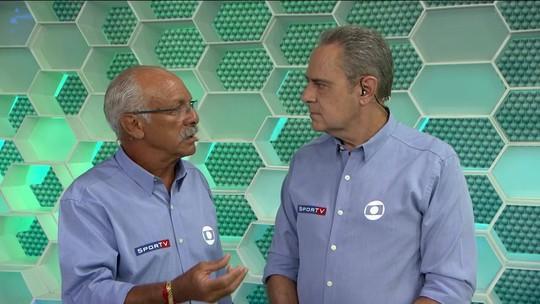 Luis Roberto e Junior comentam melhores momentos da partida entre LDU e Flamengo; assista
