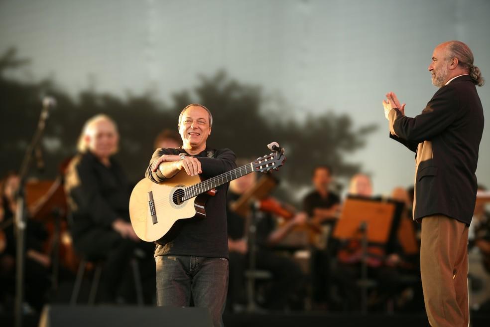 Cantor e compositor Toquinho faz show gratuito às 16h30, no Capivari, em Campos do Jordão — Foto: Julio Azevedo