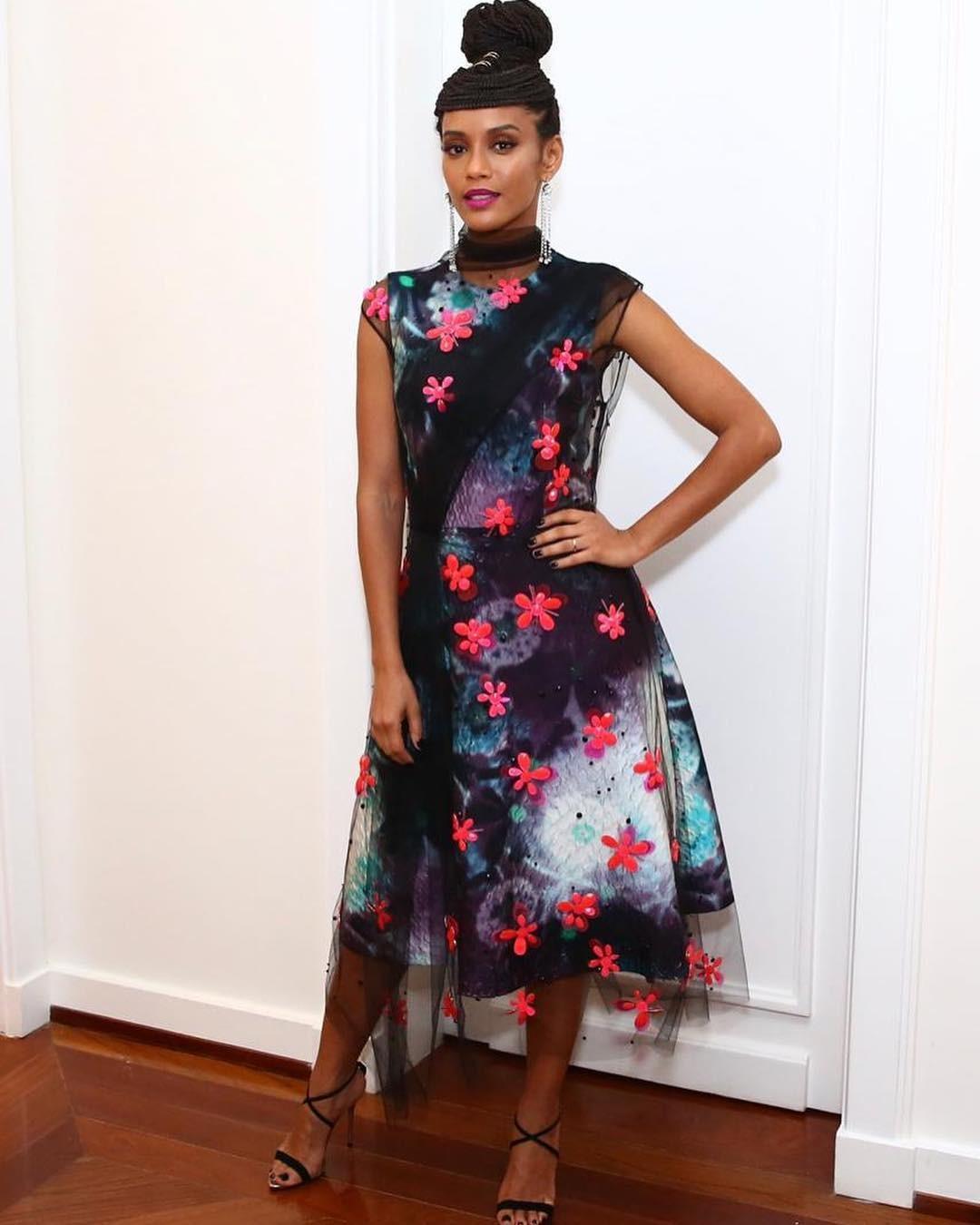 Taís Araujo brilha muito na festa de lançamento da Vogue Rio (Foto: Arquivo Vogue)