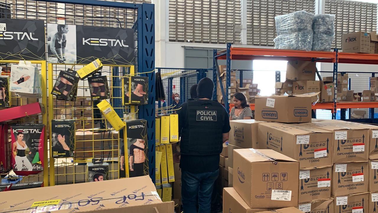 Operação apreende 50 mil máscaras no Ceará que eram vendidas em farmácias a preços abusivos