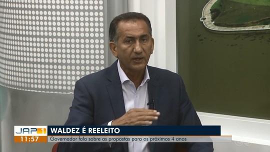 Reeleito, Waldez afirma que vai priorizar construção de novo pronto socorro no Amapá