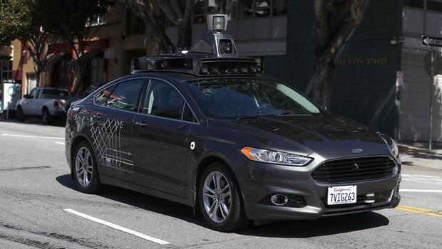 Uber autônomo (Foto: Justin Sullivan/Getty Images)