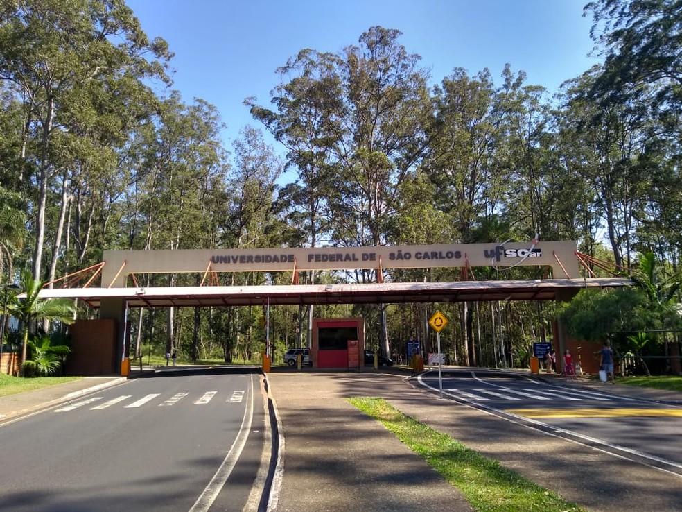 Universidade Federal de São Carlos (UFSCar) (Foto: Claudinei Junior/G1)