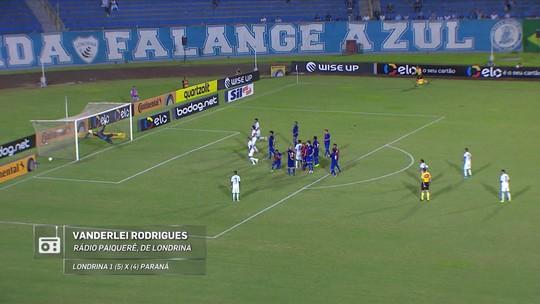 Redação AM: veja a classificação do Londrina na narração de Vanderlei Rodrigues, da Rádio Paiquerê