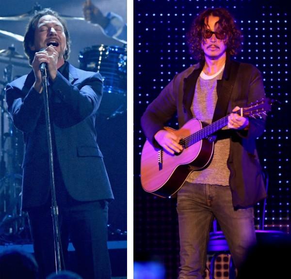 Eddie Vedder e Chris Cornell (Foto: Getty Images)