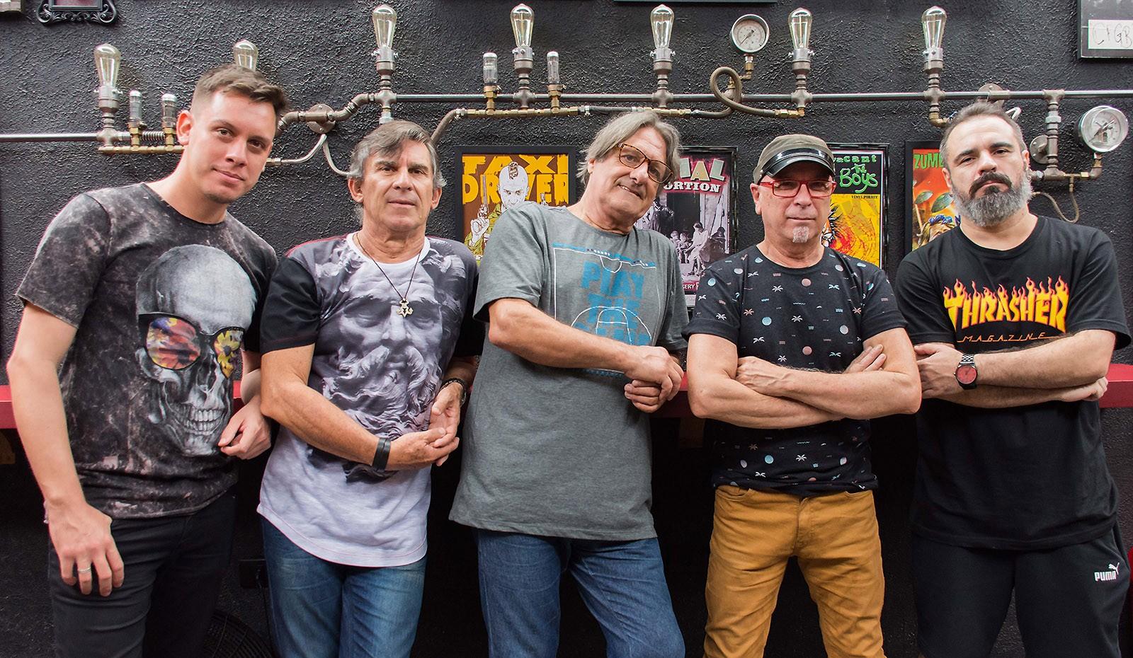 Casa das Máquinas apronta o primeiro álbum em 44 anos