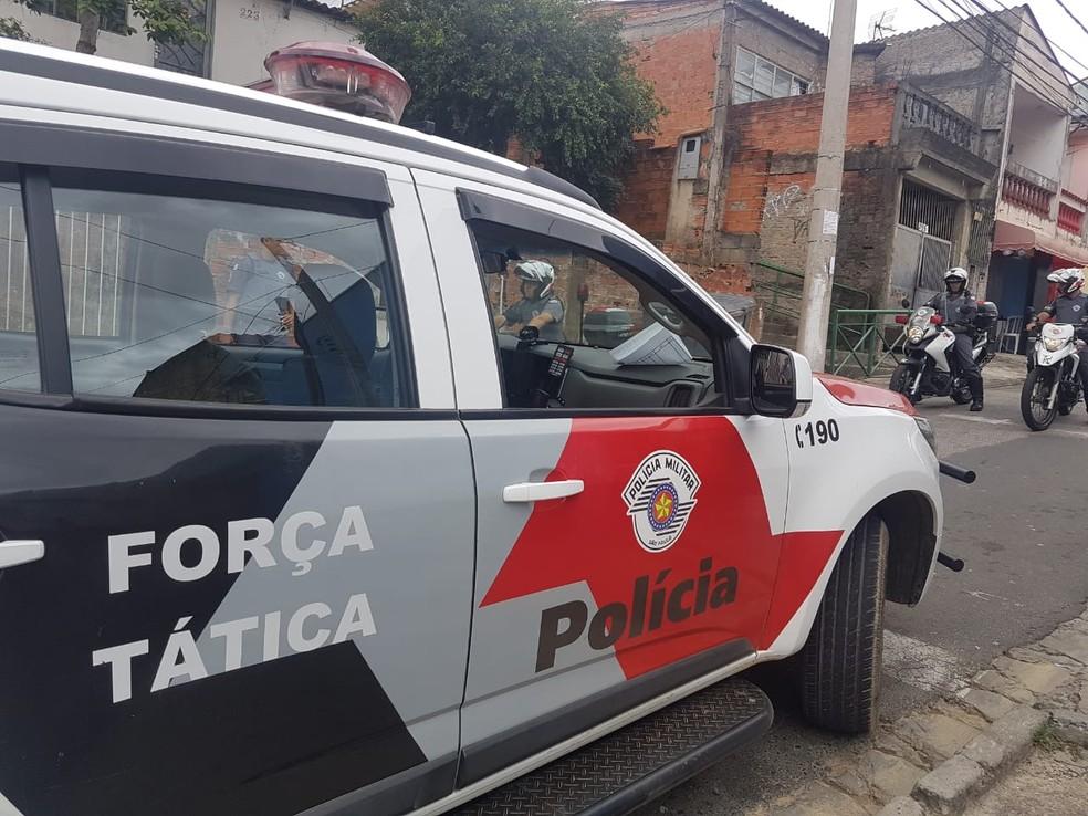 Advogado é sequestrado por dupla de moto na frente de casa em Votorantim — Foto: Divulgação/PM