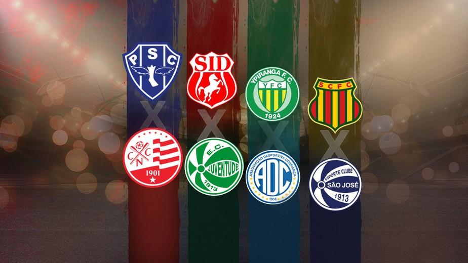Cbf Divulga Tabela Do Mata Mata Da Serie C Do Campeonato Brasileiro Brasileirao Serie C Ge