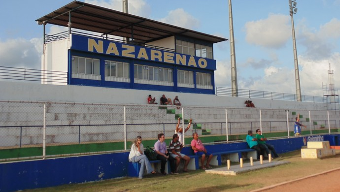 Estádio Nazarenão, em Goianinha (Foto: Jocaff Souza/GloboEsporte.com)