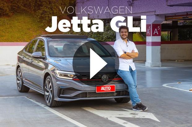 Vídeo: Volkswagen Jetta GLI (Foto: Marcos Camargo / Autoesporte)