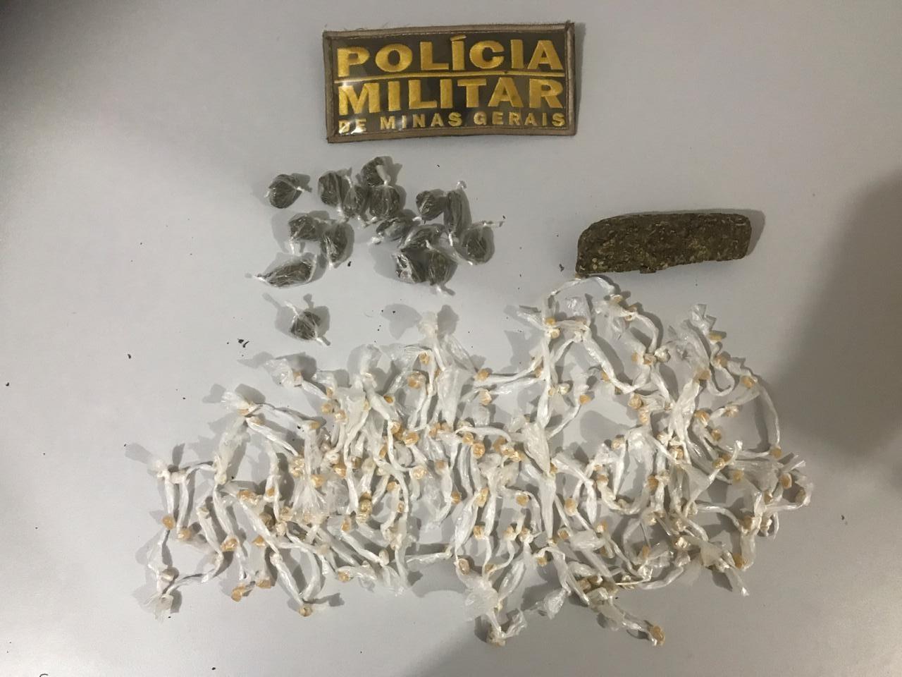 PM apreende drogas escondidas em túmulo de cemitério em Montes Claros - Notícias - Plantão Diário