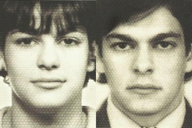 João W. Nery antes e depois de assumir sua transexualidade (Foto: Reprodução)