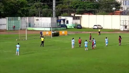 """""""Não podemos nos iludir"""" revela Monique, artilheira do jogo entre Porto Velho e Ji-Paraná"""