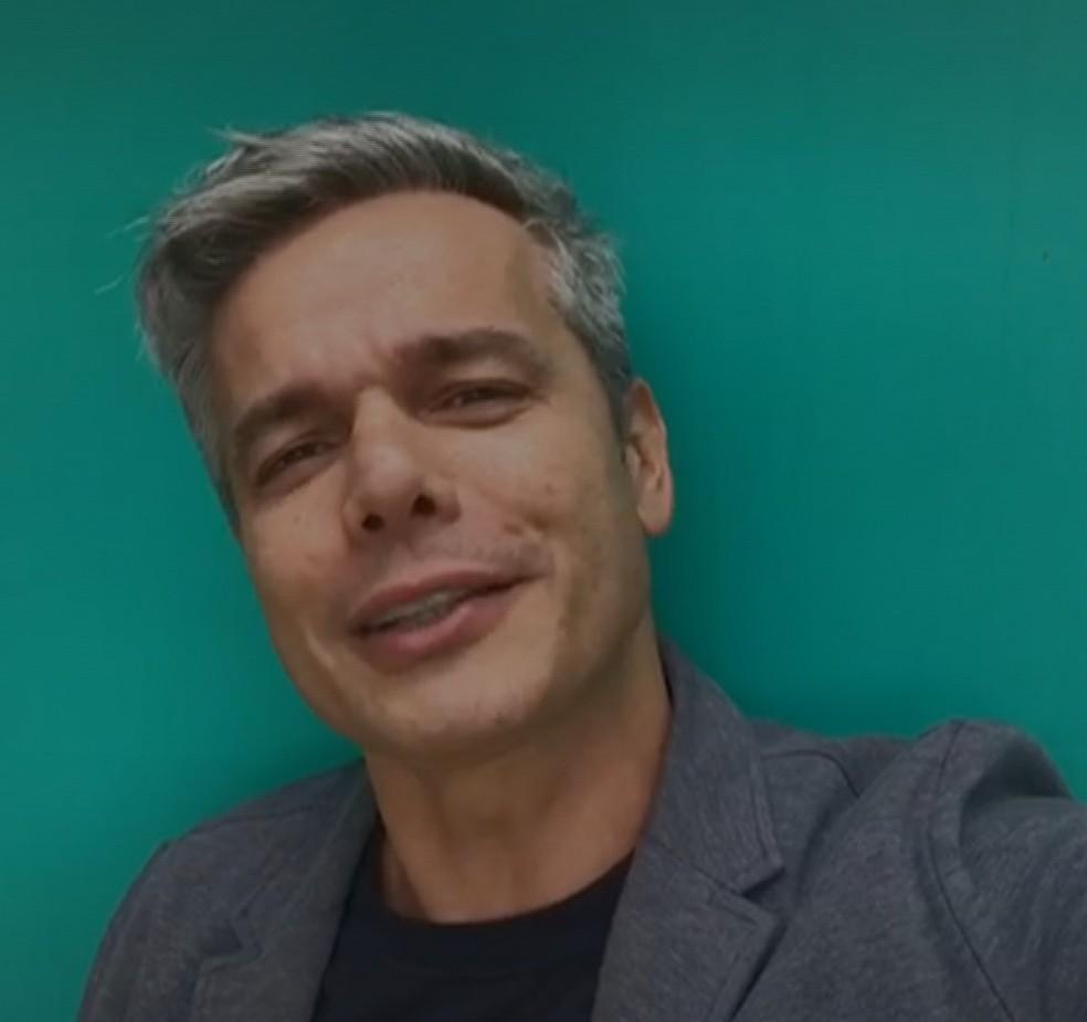Otaviano Costa, ator e apresentador cuiabano — Foto: Reprodução/TVCA