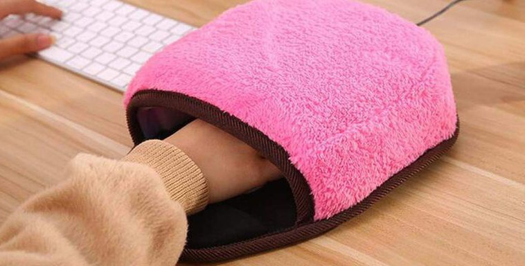 O mouse pad que te salvará do ar condicionado do escritório (Foto: Divulgação)