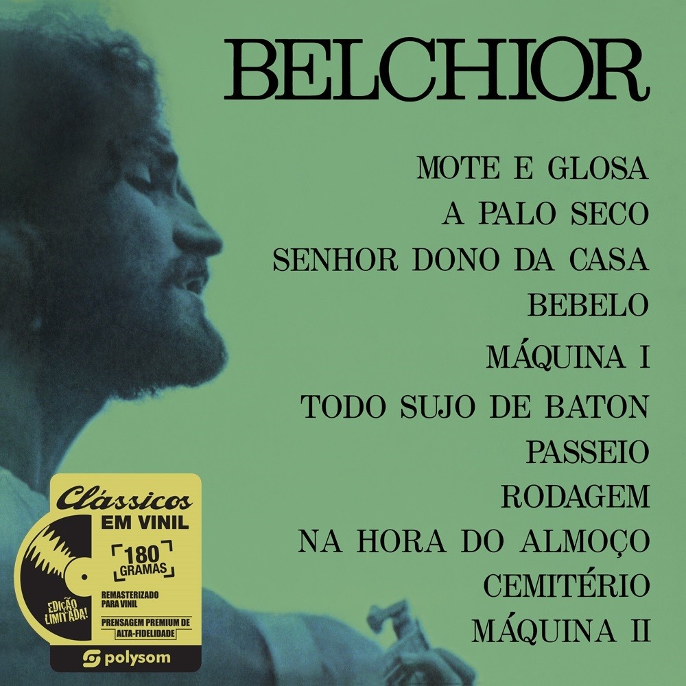 Capa do disco de Belchior