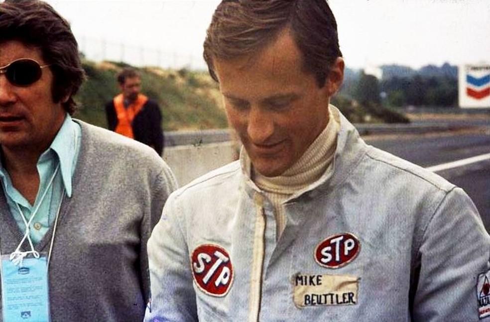 Mike Beuttler disputou sua última corrida de F1 em 1973 — Foto: Reprodução/rede social