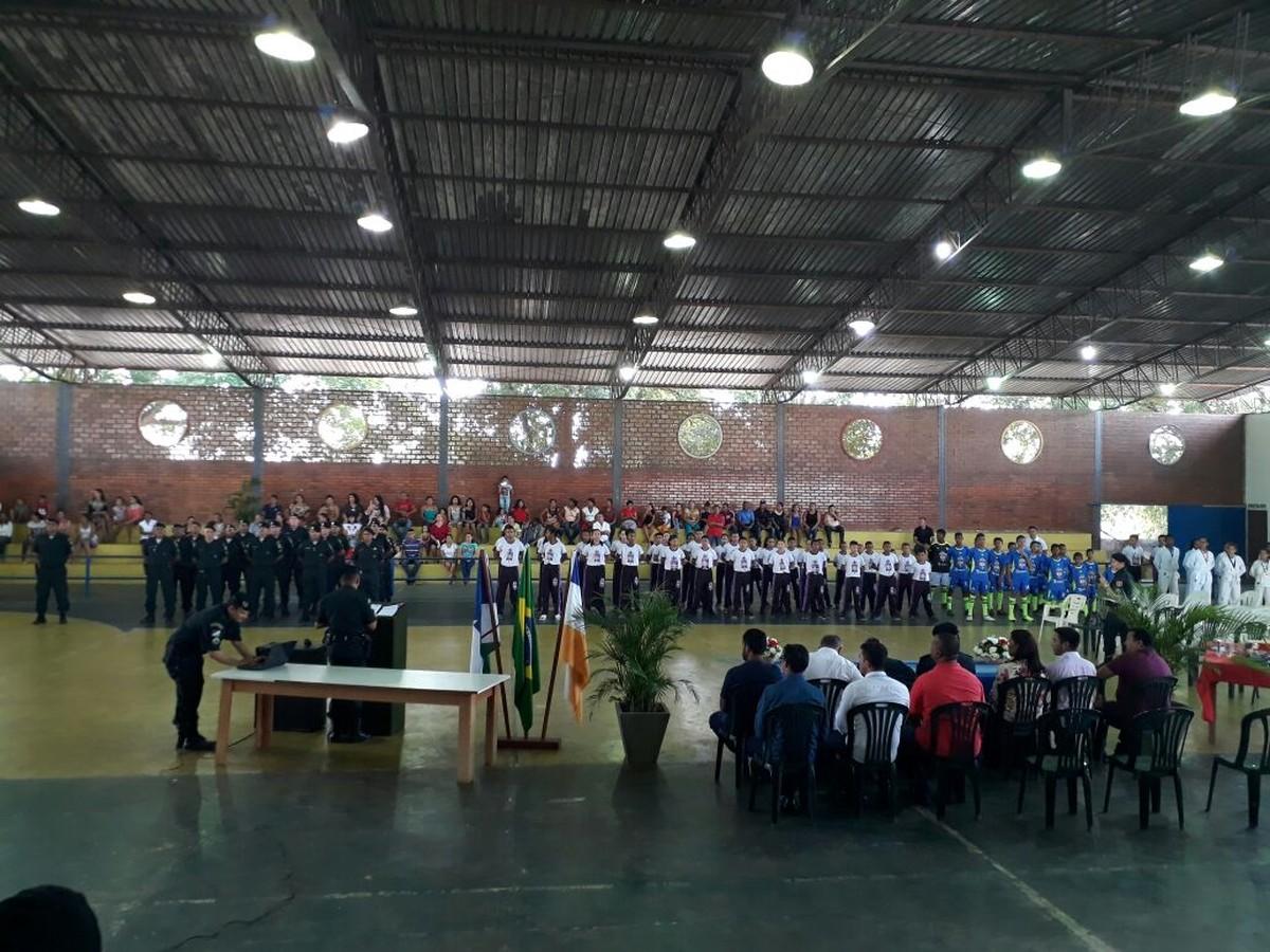 PM faz formatura de 80 alunos de projeto social em Alto Alegre, interior de RR