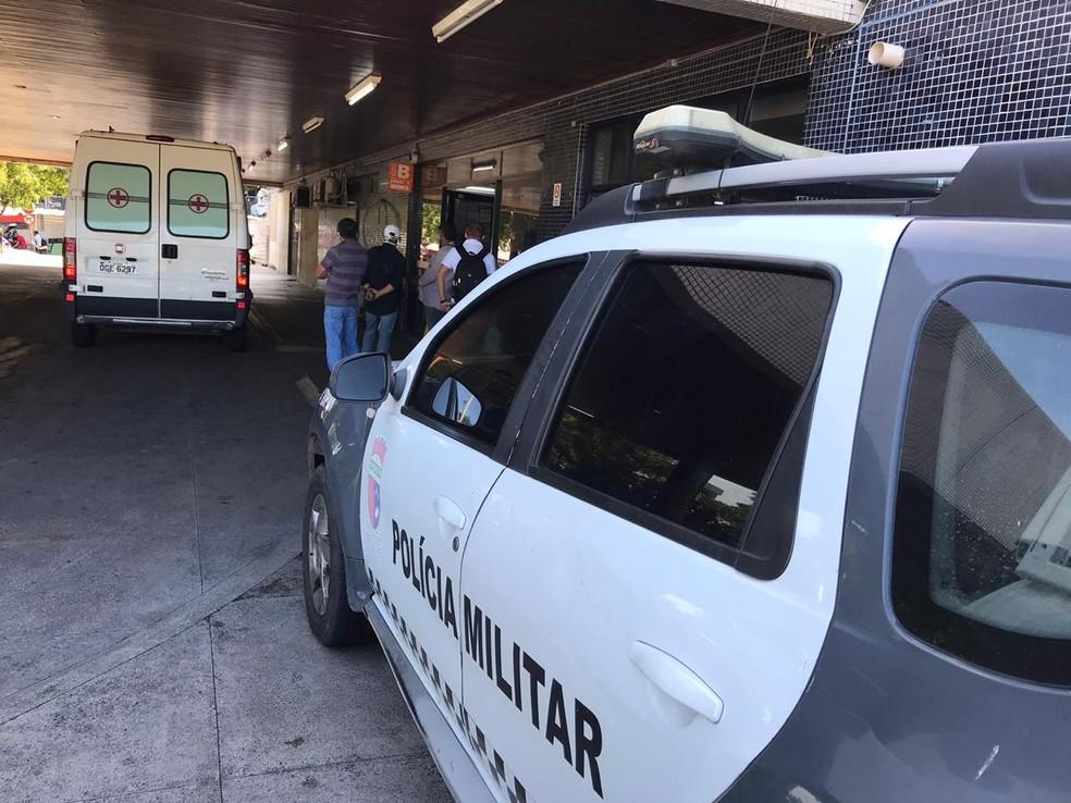Menino de 8 anos estava internado na UTI do Hospital Walfredo Gurgel, em Natal  — Foto: Ayrton Freire/Inter TV Cabugi