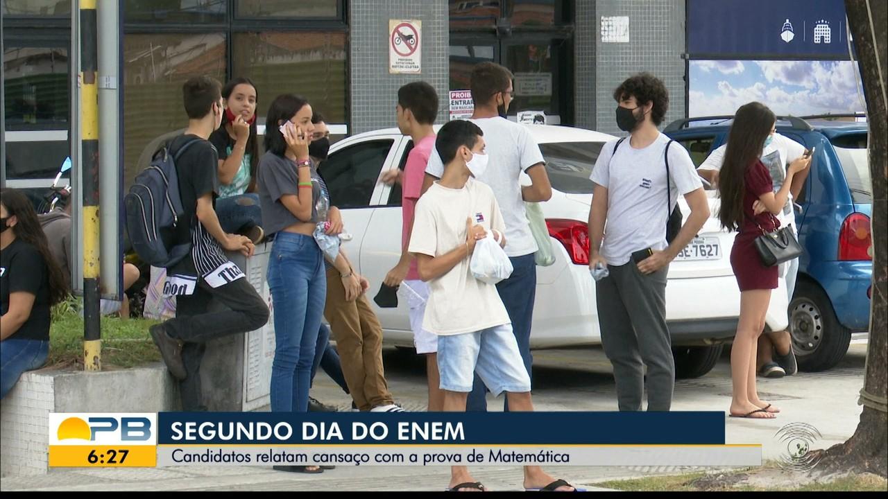 Veja como foi o segundo dia de Enem na Paraíba