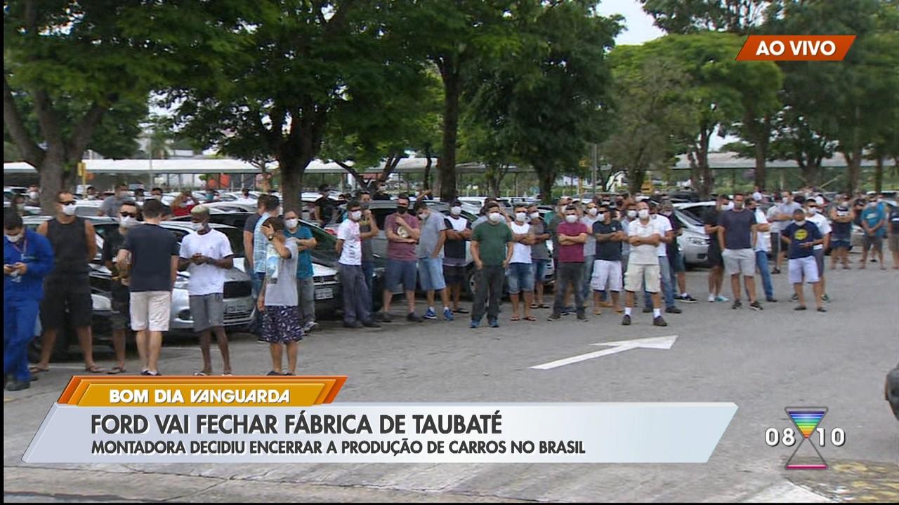 Ford decide encerrar produção no Brasil e fábrica em Taubaté será fechada