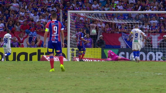 Fortaleza 2 x 1 Bahia: confira os melhores momentos e gols da partida