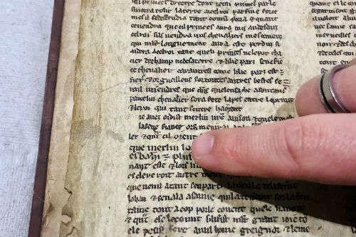 Pesquisador encontrou nova história do Rei Artur  (Foto: Divulgação)