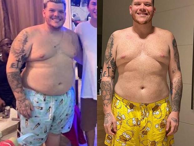Ferrugem mostra antes e depois (Foto: Reprodução/Instagram)
