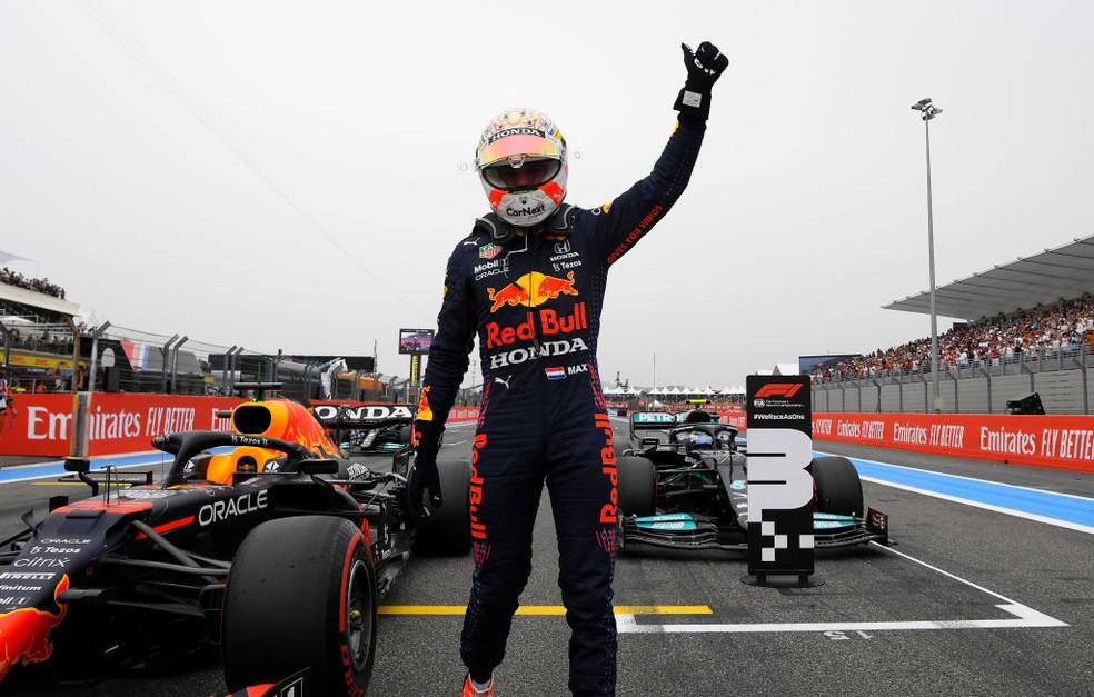 GP da França: Verstappen segura Mercedes e fatura pole position   fórmula 1    ge